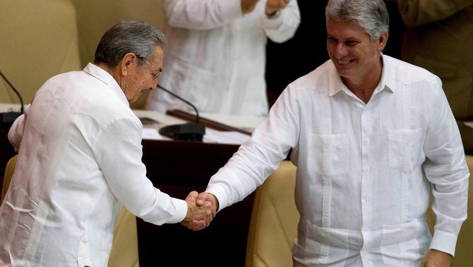 Miguel Díaz-Canel es la carta del Congreso cubano para Presidente de Cuba