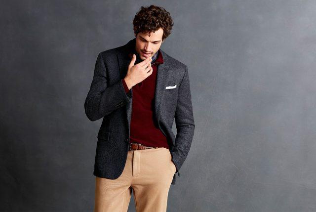 Brookstech™ Washable Merino: la innovación en sweaters masculinos