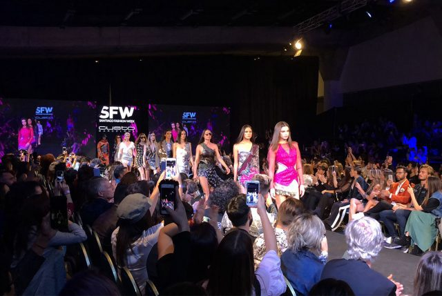 Custo Barcelona cerró con broche de oro el Santiago Fashion Week 2018