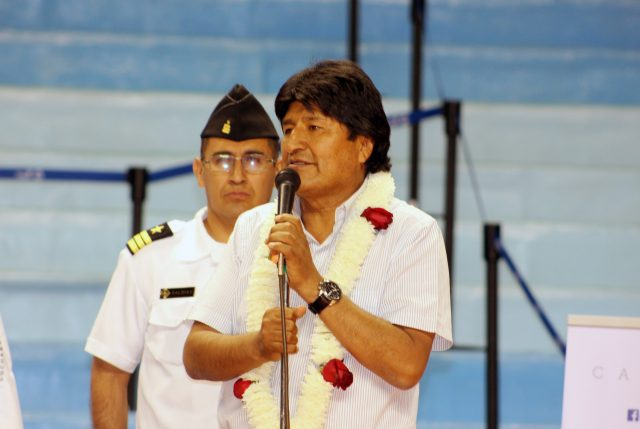 Morales asegura que Bolivia