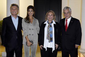 Presidente Piñera ya esta en Argentina y cena con su amigo el Presidente Macri