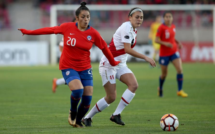 Chile aplasta a Perú 5-0 y logra la clasificación a la fase final de la Copa América Femenina