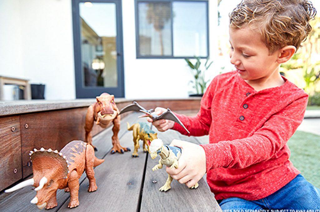 Lánzate a la aventura jurásica con los nuevos juguetes de Mattel