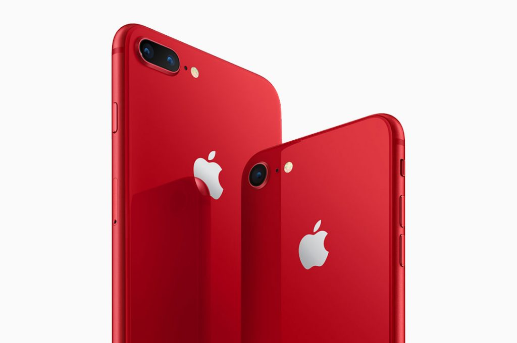 Apple presenta iPhone 8 y iPhone 8 Plus (PRODUCT)RED Special Edition