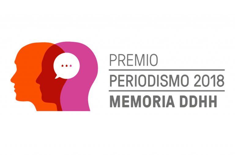 Lanzan 4° versión del ‹‹Premio Periodismo, Memoria y Derechos Humanos››