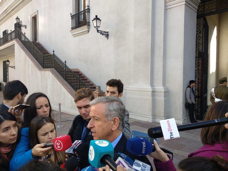 Ministro Larraín da detalles sobre el nuevo proyecto de pensiones de La Moneda