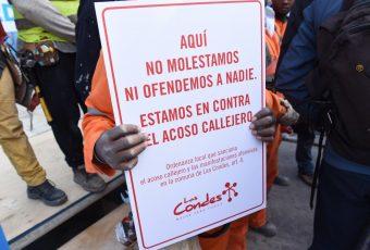 El piropo que generó el primer parte por acoso callejero en la comuna de Las Condes