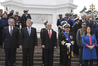"""Presidente Piñera por 21 de mayo: """"Todos tenemos la oportunidad de mostrar nuestro sentido de grandeza y patriotismo"""""""
