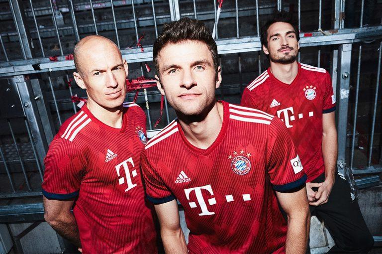 Esta es la nueva camiseta del FC Bayern Múnich para la temporada 2018/19