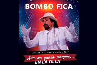 """Bombo Fica, presenta su nuevo espectáculo """"aún me queda manjar en la olla"""""""