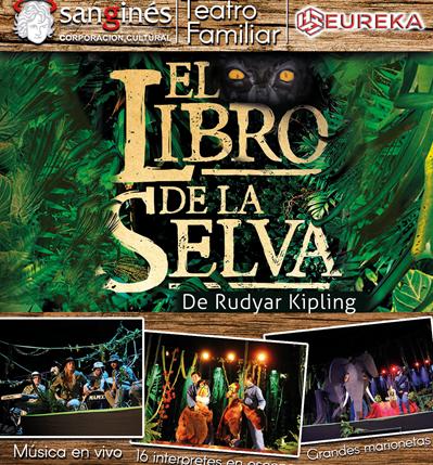 El Libro de la Selva en Centro Cultural San Ginés