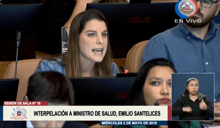 """Diputada Orsini le exige a Santelices y al gobierno que """"no nos devuelva a esas cavernas machistas"""""""