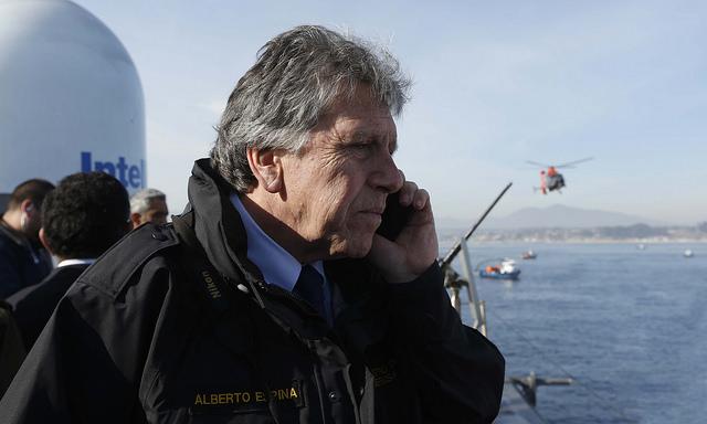 """Ministro Espina acusa que se encontraron con un """"Plan Frontera Norte completamente desinflado"""""""