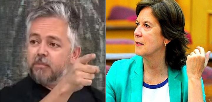 """Baradit trata de """"porquería traidora"""" a Mariana Aylwin y ella le responde """"lamentó su prejuicio conmigo"""""""