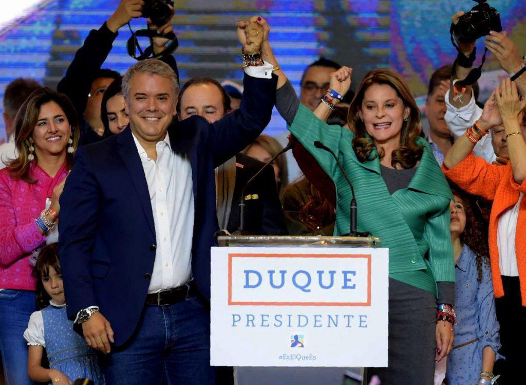 """Electo Presidente de Colombia, el derechista Iván Duque: """"Voy a entregar todas mis energías por unir a este país"""""""