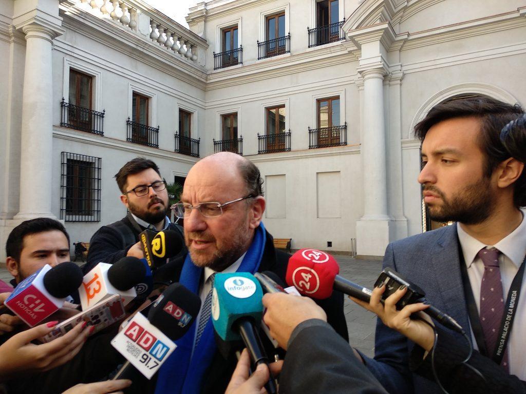 Ministro Moreno y sus cuentas alegres por los cien días de gobierno