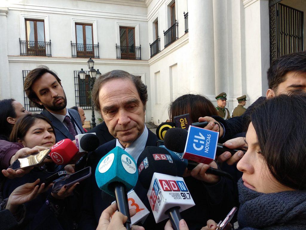 Ministro Larraín descarta que la oposición ganara el 'gallito' en temas valóricos