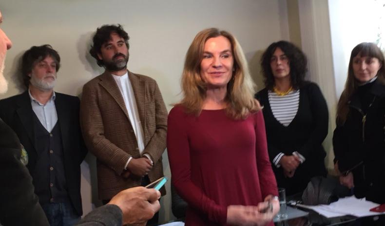 """Ex ministra Alejandra Pérez: """"Uno hace lo que puede"""""""