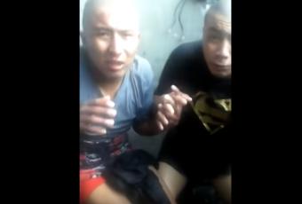 Video torturando a ecuatorianos que mataron a una mujer en Santiago obliga a Gendarmería a trasladarlos a otra unidad penal