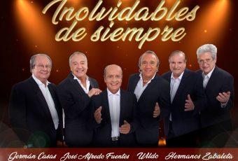"""""""Inolvidables de Siempre"""" el show que reúne a seis grandes de la música chilena"""