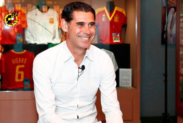 Tras la bochornosa salida de Lopetegui como DT de España, Fernando Hierro será el estratega para el Mundial