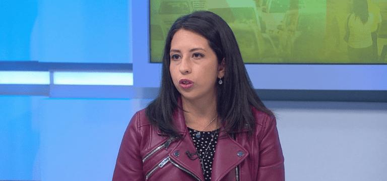 """Diputada Yeomans califica como """"impresentable"""" que un ex ministro de Bachelet defienda a Santelices"""