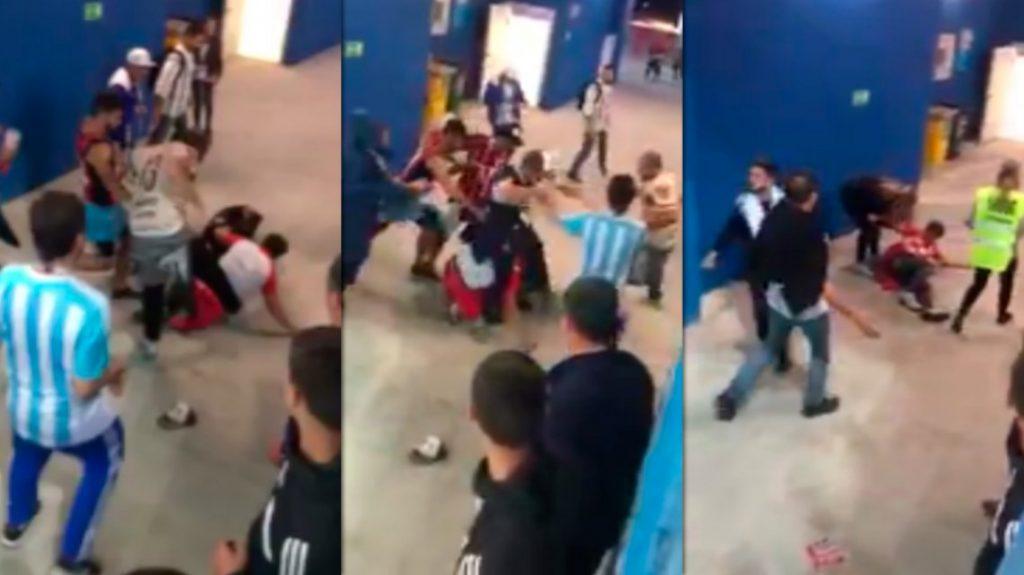 Indignación contra hinchas argentinos que golpean a un seguidor de Croacia tras derrota