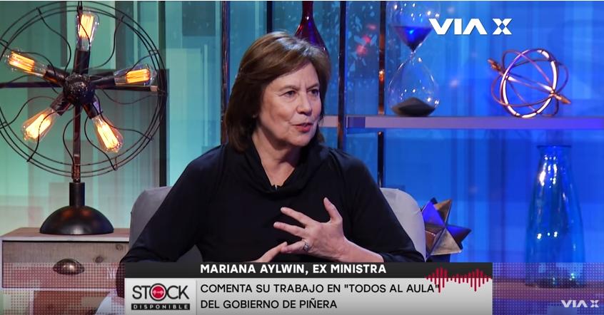 """Mariana Aylwin critica duramente a Bachelet: """"El legado fue la destrucción de la coalición que gobernó con ella y mi partido"""""""
