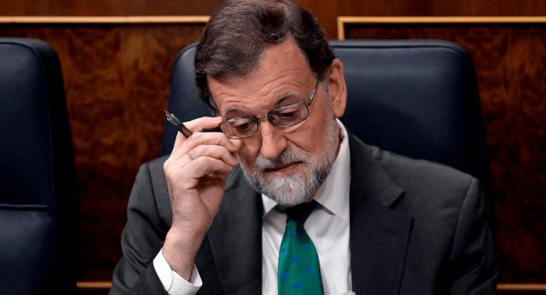 Congreso de Diputados español vota a favor y destituyen a Mariano Rajoy