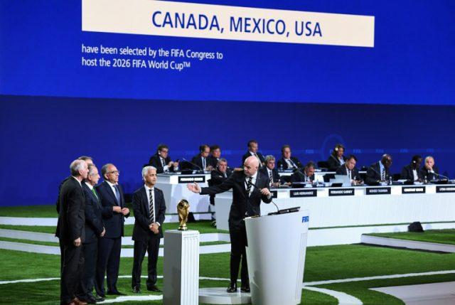 ¿Mundial con  muro? Fifa informa que EEUU, México y Canadá organizarán el Mundial-2026