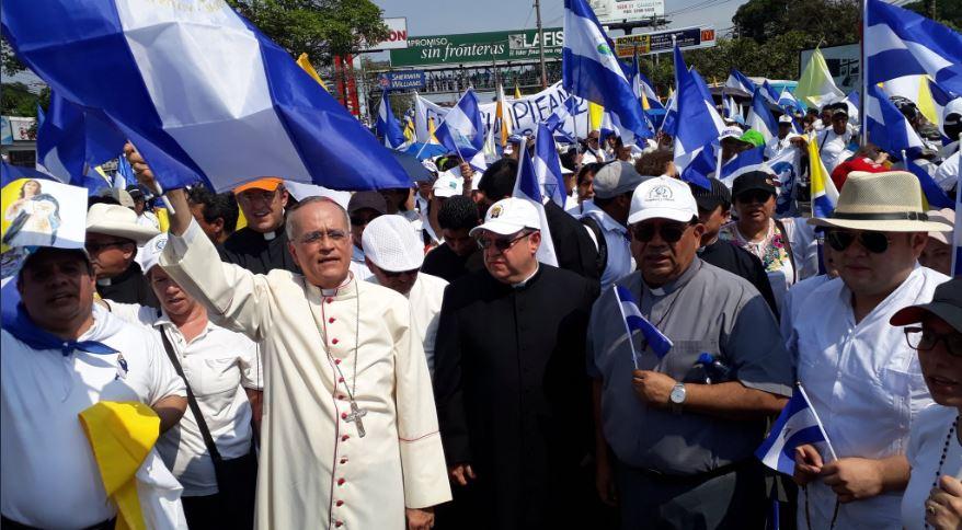 """Nicaragua: Obispo de Managua a Presidente Ortega """"Lo que la gente grita en la calle es """"¡que se vaya!"""""""