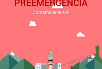 La contaminación no da tregua: Intendencia decreta Preemergencia Ambiental para este domingo