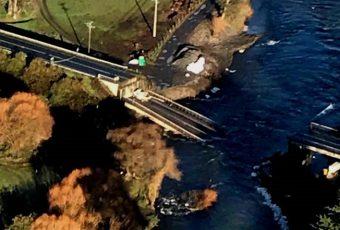 """Ministro de OOPP por caída de Puente Cancura: """"Lo ocurrido aquí es inaceptable"""""""
