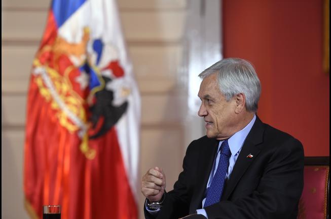 Encuesta Adimark: Sube a un 52% la aprobación del Gobierno de Sebastián Piñera