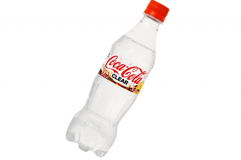 Conoce la nueva Coca-Cola Zero transparente