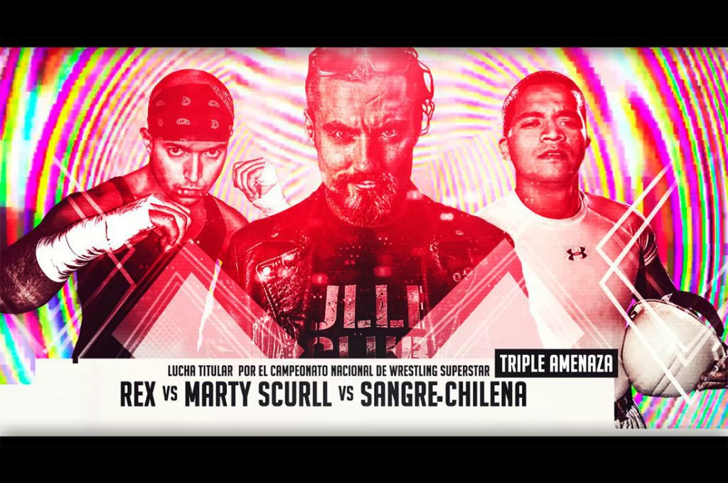 "Integrante del ""Bullet Club"", The Villain Marty Scurll Llega a Chile Traído por Wrestling Superstar"