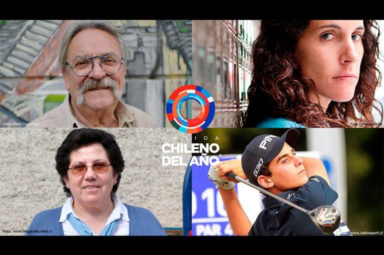 Nominan a Coco Legrand, Nelly León, Joaquín Niemann y Teresa Aninat como Chileno del Año