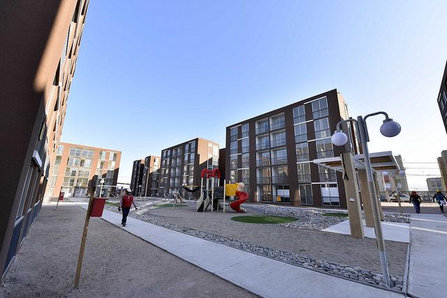 Los otros proyectos de viviendas de integración social que se planificaron a causa de la reconstrucción