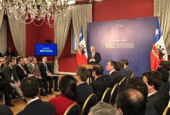 Presidente Piñera presenta 150 propuestas de Comisión de Seguridad y anuncia nuevas comisiones transversales