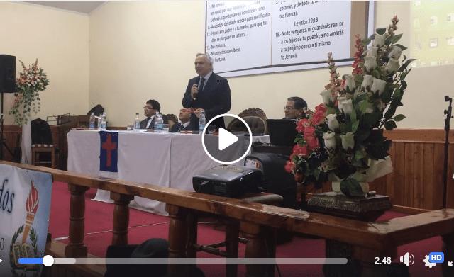 """Ministro Chadwick echa por tierra """"agenda valórica"""" en reunión con comunidad evangélica"""