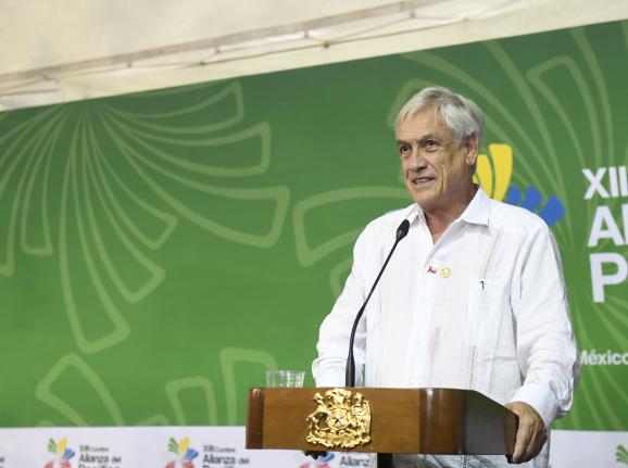 Presidente Piñera celebra los avances logrados en la Alianza del Pacífico como entidad que promueve el desarrollo continental