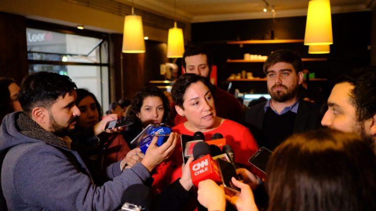 Bancada y organizaciones del FA definen junto a Beatriz Sánchez su agenda para lo que queda del año