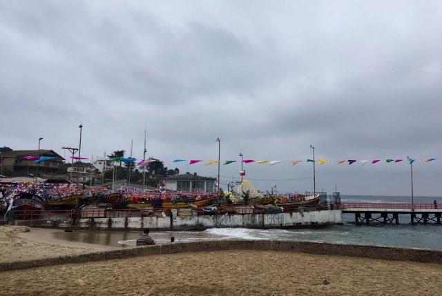 Fiesta de San Pedro en Caletas del Litoral Central se realiza con el mismo fervor en tierra debido a anuncio de marejadas
