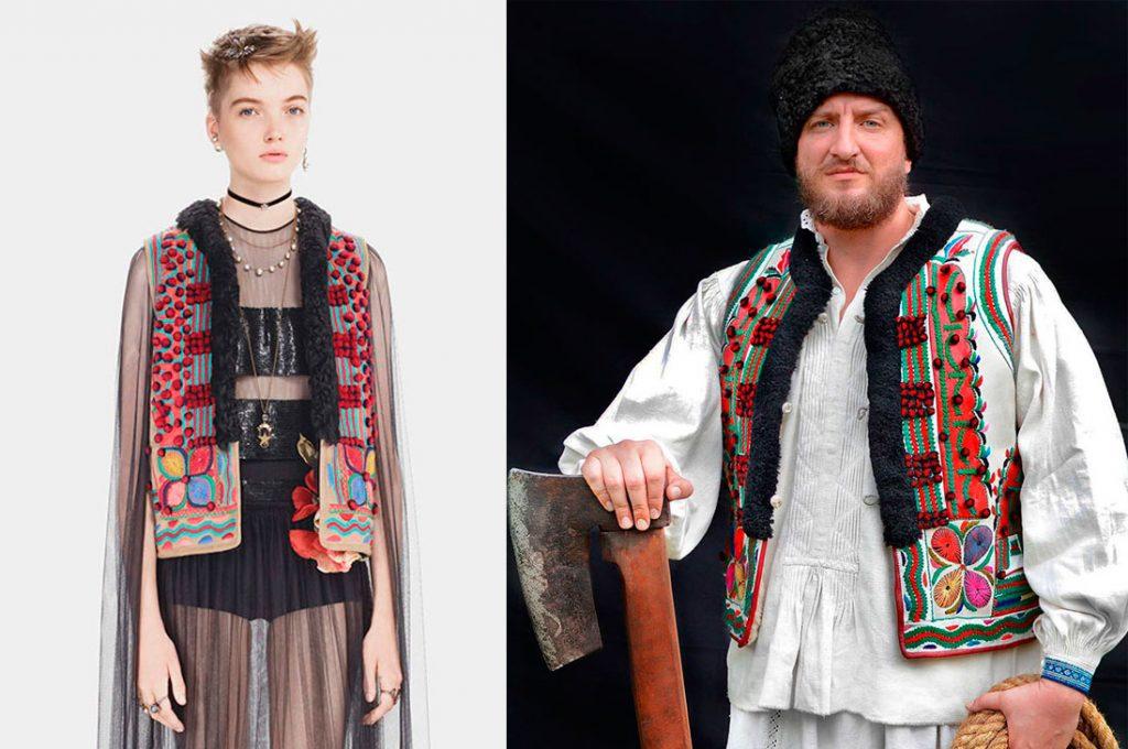 Ropa tradicional rumana es plagiada por la casa Dior