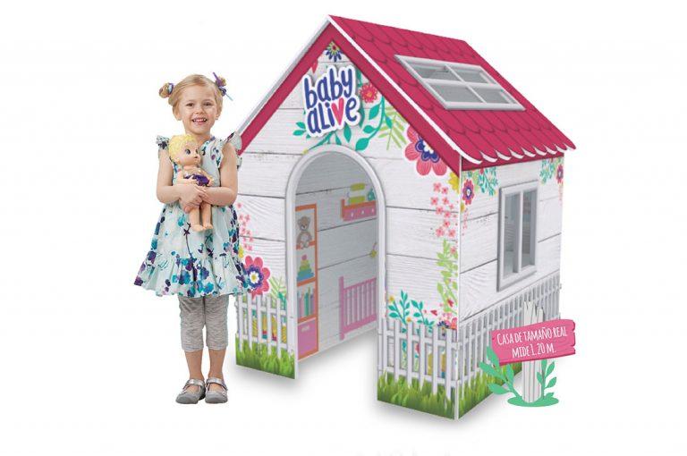 ¡Llévate a casa la casita de Baby Alive!
