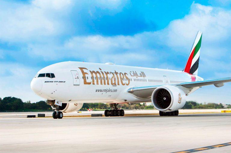 Emirates aterriza en Santiago de Chile vía Sao Paulo