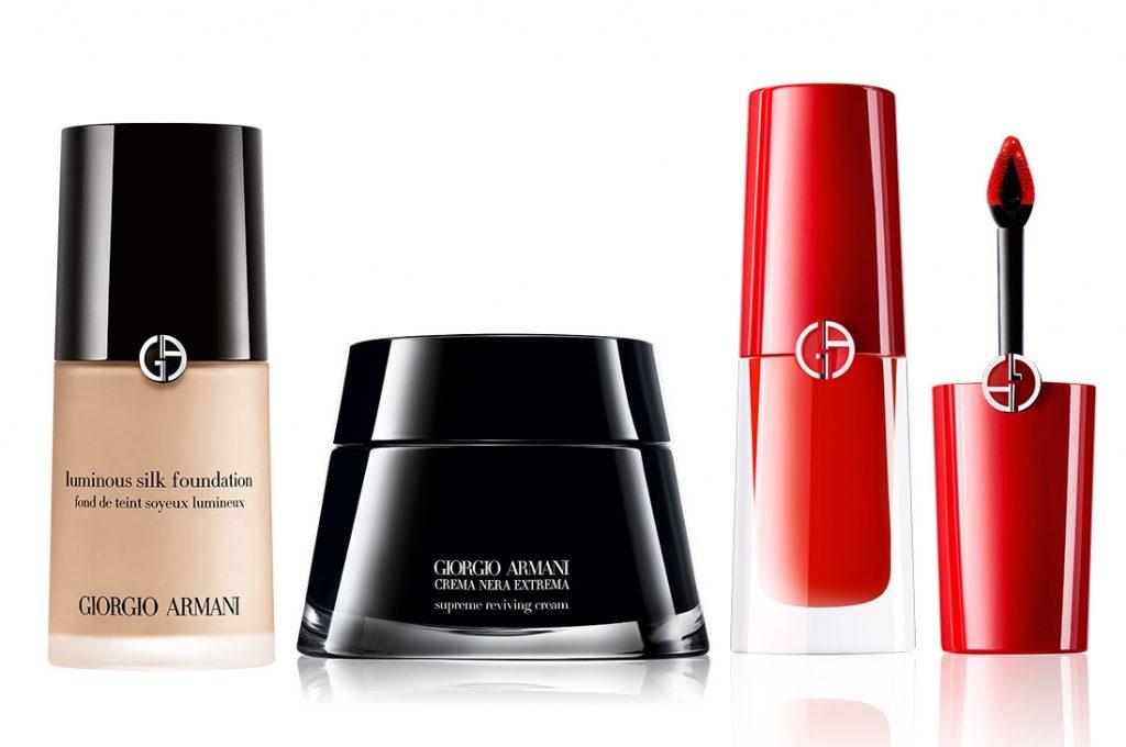 La marca Armani Beauty aterriza en Chile con cosmética de Lujo