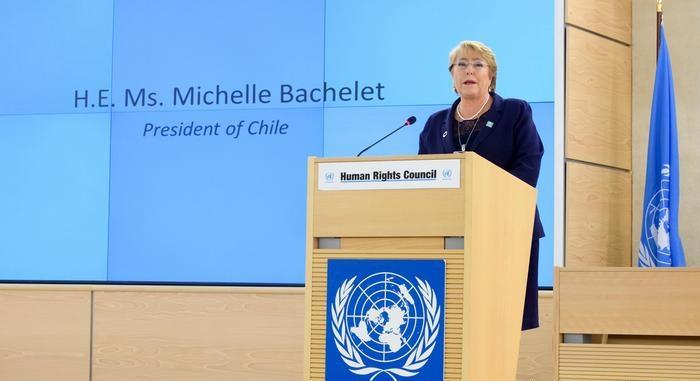 ONU ratifica a Michelle Bachelet como Alta Comisionada de DD.HH.