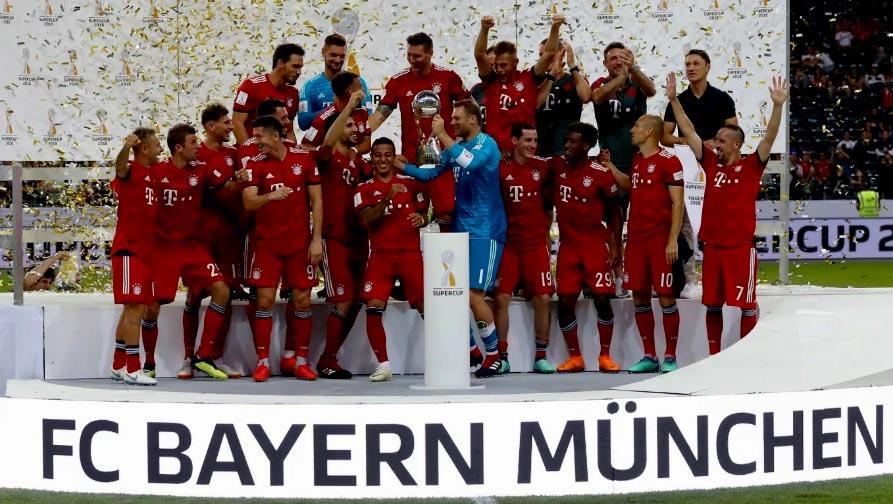 Supercopa de Alemania: Bayern campeón tras golear 5 a 0 al Frankfurt