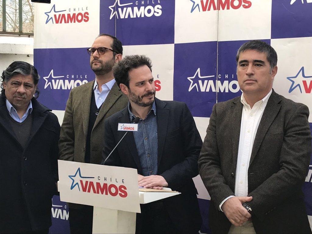 Chile Vamos reconoce errores y valora veloz actuar del Presidente en cambio de gabinete